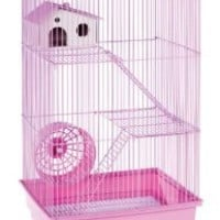 Prevue Hendryx SP2030L Three Story Hamster and Gerbil Cage, Lilac