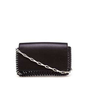 PACO RABANNE | Leather Chain-Mail Clutch Bag | brownsfashion.com | The Finest Edit of Luxury Fashion | Clothes, Shoes, Bags and Accessories for Men & Women