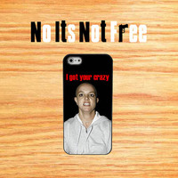 Bald Britney Spears iphone4 case iphone4s hard case funny celebrity iphone case