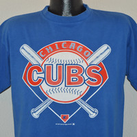 80s Chicago Cubs t-shirt Large