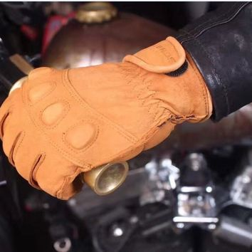 free delivery UGLYBROS Ha-lle retro wind motorcycle gloves motorcycle riding gloves breathable warm leather gloves