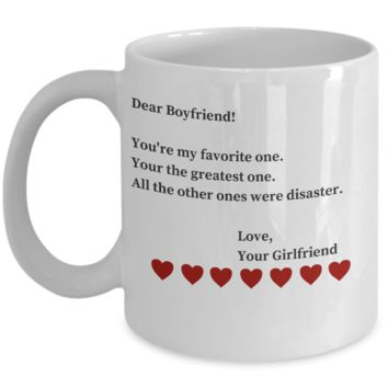 Funny Valentines Day Gifts For Boyfriend - 1 Year Dating Anniversary Gifts For Him - Funny Gift San Valentin to Make him Laugh for Hours