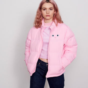 Lazy Oaf Kitty Cat Puffer Jacket