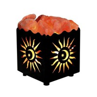 Glowing Sun Dimmable Natural Himalayan Salt Lamp