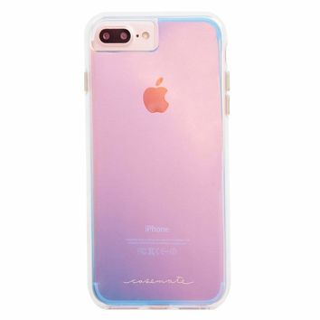 Case-Mate iPhone 8 Plus Case - NAKED TOUGH - Iridescent - Slim Protective Design for Apple iPhone 8 Plus - Iridescent