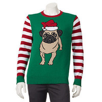 Pug Christmas Sweater - Men