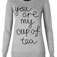 Markus Lupfer You Are My Cup Of Tea Nat Jumper