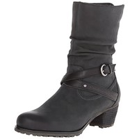 Blondo Womens Robin Leather Slouchy Ankle Boots