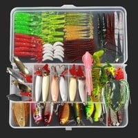 New 8 Style Multi Fishing Lure Mixed Colors