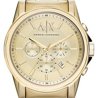 Men's AX Armani Exchange Chronograph Bracelet Watch, 45mm