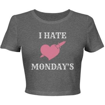 I hate monday's: Creations Clothing Art