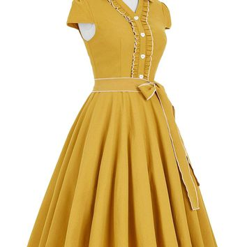 Donna Reed Housewife Retro Dress