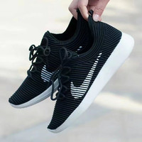 """""""Nike"""" Fashion Casual Flying Weave Unisex Sneakers Couple Running Shoes"""