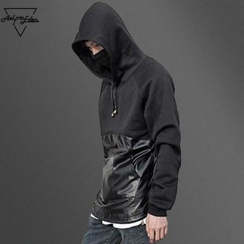 ca qiyif Novelty Black Assassins Creed Clothing Patchwork Design
