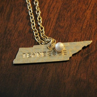 """State Love"" necklace - Tennessee"