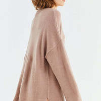 UO Benny Fuzzy Mock-Neck Sweater   Urban Outfitters