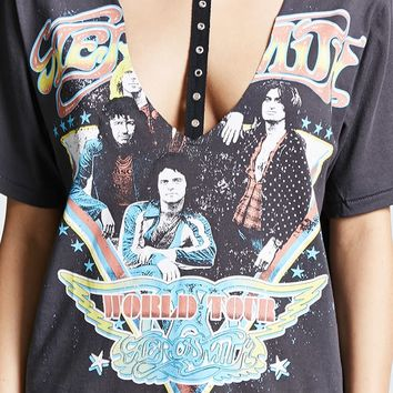Aerosmith Graphic Choker Tee