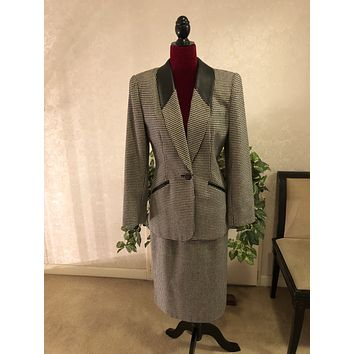 Kasper for A.S.L. Ladies Two Piece Dress Suit, US Size 6
