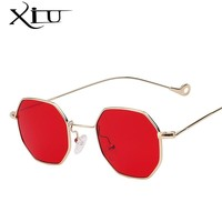 XIU Multi Shades Steampunk Men Sunglasses Retro Vintage Brand Designer Sunglasses Women Fashion Summer Glasses UV400