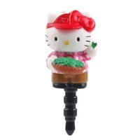 Sanrio Hello Kitty Korea Limited Earphone Jack Accessory (Green Tea)