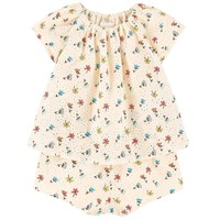 Chloe Baby Girls Floral And Lace Onesuit (Mini-Me)