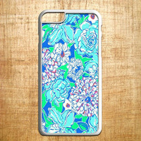 lily pulitzer white blue for iphone 4/4s/5/5s/5c/6/6+, Samsung S3/S4/S5/S6, iPad 2/3/4/Air/Mini, iPod 4/5, Samsung Note 3/4, HTC One, Nexus Case *AP*