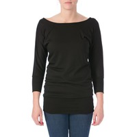Tempted Womens Juniors Knit Ribbed Tunic Sweater