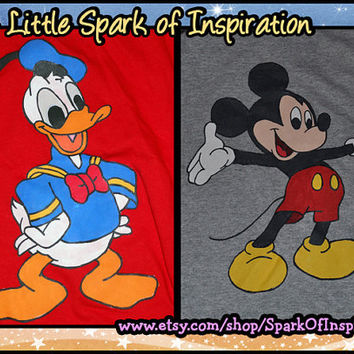 Best Buddies - Disney Matching  T-Shirts Mickey and Donald