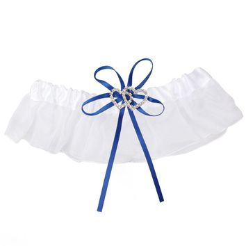 2pcs Satin Ribbon Leg Garter Wedding Accessories (13-23.5 inches - 8 colors available)