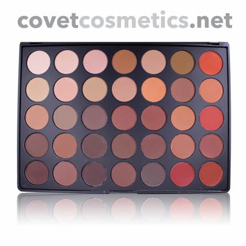 Morphe 35 Color Nature Glow Matte Palette - 35OM