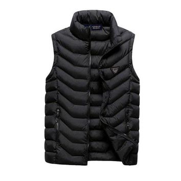 DCCKGSQ armani women or men fashion casual sleeveless cardigan jacket coat windbreaker