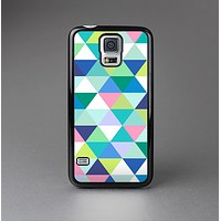 The Vibrant Fun Colored Triangular Pattern Skin-Sert Case for the Samsung Galaxy S5