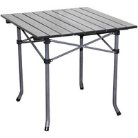 Aluminum Roll Slat Dove Grey Table | Overstock.com Shopping - The Best Deals on Camp Furniture