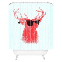 DENY Designs Young Buck Shower Curtain