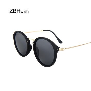 Luxury Round Mirror Sunglasses Women Brand Designer Retro Sun Glasses For Women Vintage Lady Female Oval Sunglass Oculos De Sol