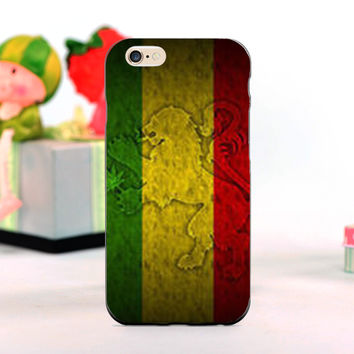 Rasta Lion weed cool mobile phone Cases for iphone 5s 4s 5c 6 6plus and Case for Samsung S3 S4 S5 S6 S7 Note 2 3 4 5