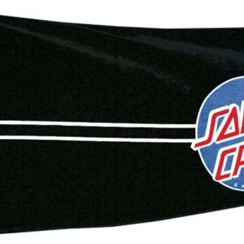 Santa Cruz Classic Dot Towel Black