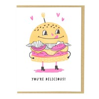 Hungry for You Card