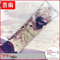 New Ken Kaneki - Tokyo Ghoul Anime Dakimakura Japanese Hugging Body Pillow Cover GZFONG176