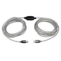 25FT HIGH-SPEED USB2.0 A/B ACTIVE DEVICE CABLE A MALE B MALE
