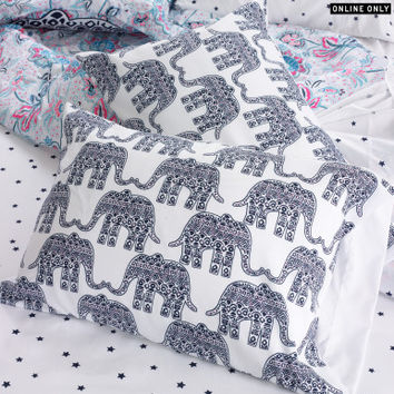 Elephant Pillowcase Set -