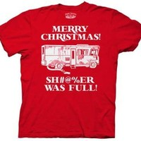 Merry Christmas Shitter Was Full Griswolds Adult T-Shirt,