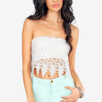 Nikki Crochet Tube Top $21