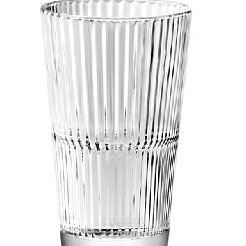 Majestic Gifts E65239-S6 Quality Glass Stackable Highball Tumbler 13.8 oz. Set of 6
