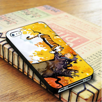 Calvin And Hobbes Cartoon Comic iPhone 4 | iPhone 4S Case