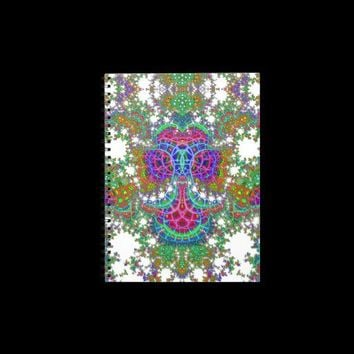 Emergent Mosaic Anchor V 3  Notebook from Zazzle.com