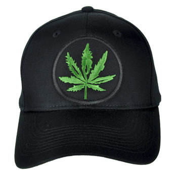 Cannabis Pot Leaf Hat Baseball Cap Alternative Clothing Legalize Marijuana