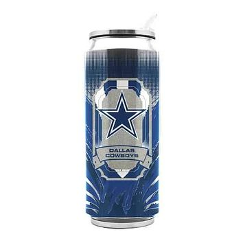 Dallas Cowboys Stainless Steel Thermo Can 16.9 oz