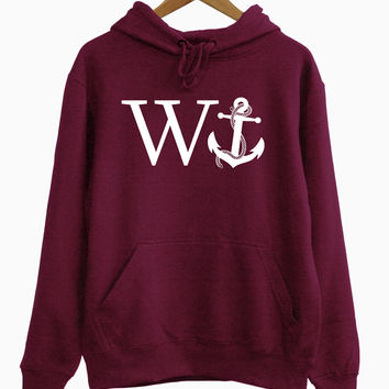 W Anchor Hoodie