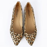 Breckelle's Talia-01s Pointy Animal Flats | MakeMeChic.com